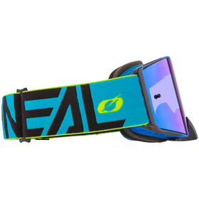 O'Neal B-30 Goggles, bold-blue/neon yellow-radium red